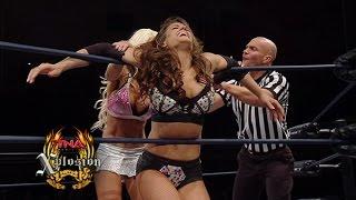 Xplosion Match: Brooke vs Angelina Love