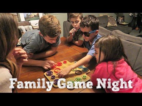 FAMILY GAME NIGHT | OTRIO TIC TAC TOE | PHILLIPS FamBam Vlogs