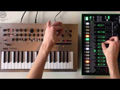Christopher Kah - Session II with Minilogue + TR-8