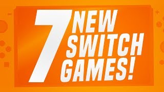 7 NEW Switch Gaṁes JUST ANNOUNCED for Nintendo eShop! (2 Release Date Switch Update's)