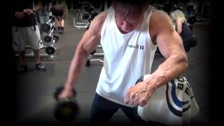 80 year old bodybuilder jim arrington s workout pump
