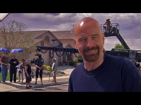 On the Season 5 Set with Bryan Cranston and Aaron Paul: Breaking Bad