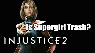 Injustice 2 - Supergirl Nerfs (Is she trash now?)