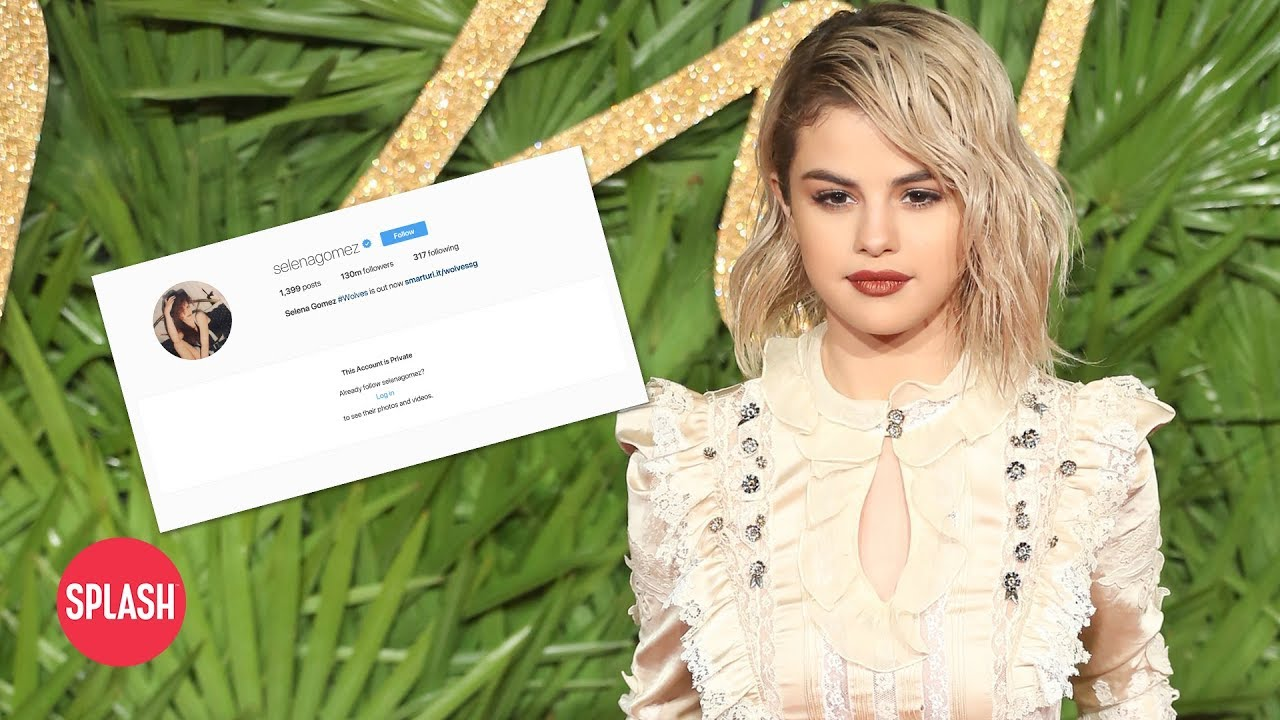 Selena Gomez May Have Deleted Instagram Due to Teddy Bear Theory   Daily  Celebrity News   Splash TV