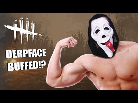 DERPFACE BUFFED?! | Dead By Daylight GHOSTFACE GAMEPLAY |