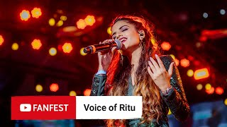 Voice of Ritu @ YouTube FanFest Mumbai 2019