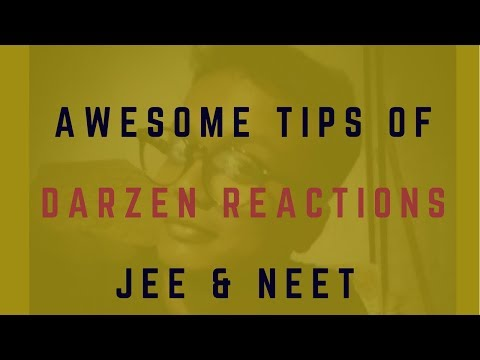 Darzen reactions|IIT JAM|GATE CHEMISTRY|NET CHEMICAL SCIENCE|IIT JEE ADVANCED|NAME REACTIONS |हिन्दी