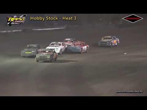 Hobby Stock Heats - Rapid Speedway - 9/15/18