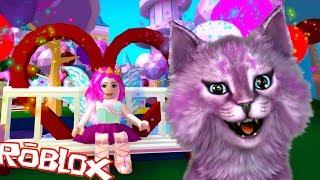 la principessa delle fate e sirene hanno adornato la scuola in robloks Royale liceo roblox LANA gatto va in palla