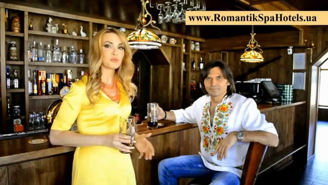 Olha Sumska and Vitali Borysiuk in the «ROMANTIC SPA HOTEL»