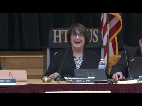 Board of Education Meeting 1-7-19