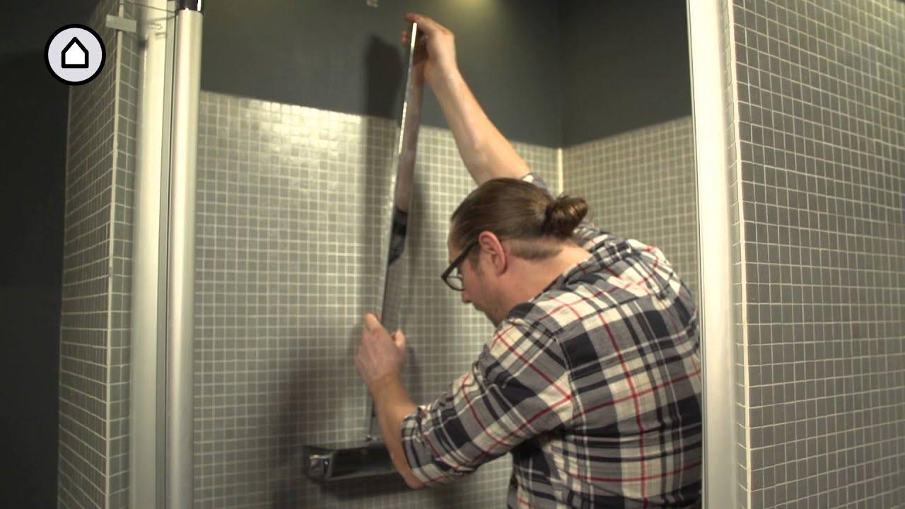 zelf een raindance showerpipe regendouche monteren woonwebsite