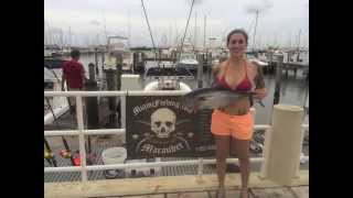 50 lb. Bull Mahi Mahi in Miami, FL Caught Aboard the Marauder