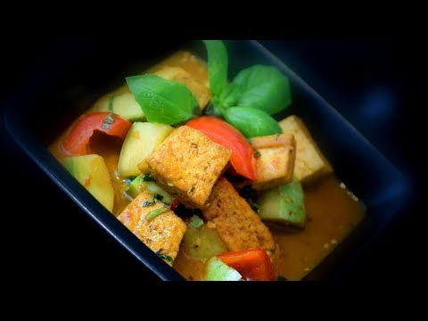 Tangy Tofu Lime Curry | Chinese Style Recipe