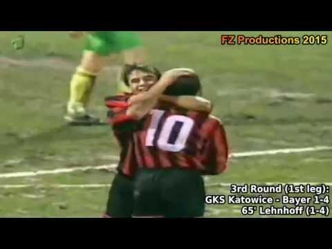 1994-1995 Uefa Cup: Bayer 04 Leverkusen Goals