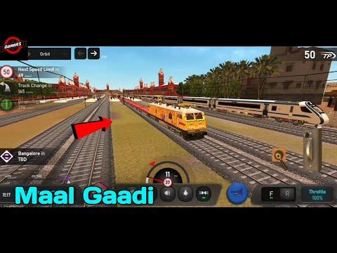 Maal Gaadi | Indian Train Simulator New Update 2021 | Train Videos | Game | New Viral Video | GameRS |