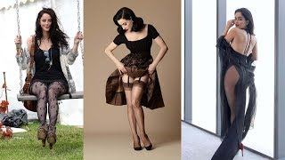 Hot Celebrity Pantyhose Compilations #4