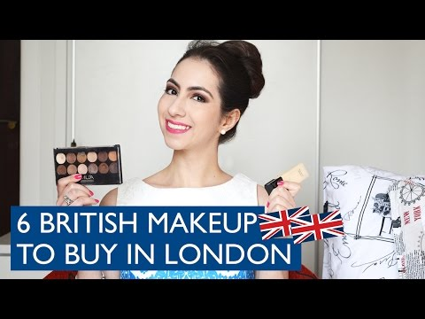 6 British Makeup Brands to buy in London and UK