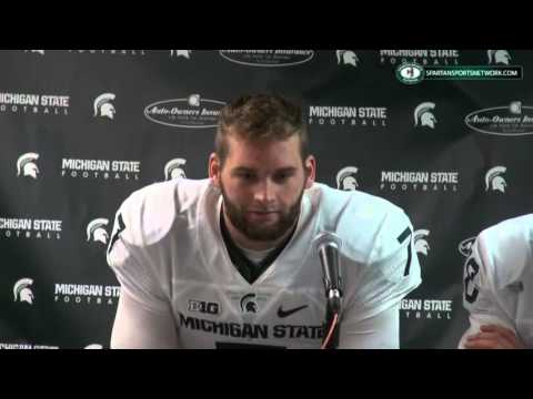 Michigan State 17 Ohio State 14: Tyler O'Connor, Damion Terry, Connor Cook