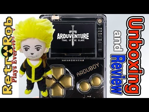 Arduventure Arduboy Unboxing, Gameplay and Review