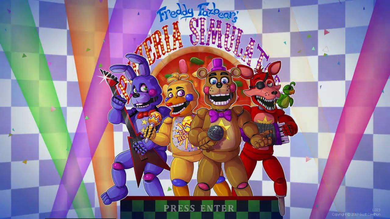 Игра Freddy Fazbear's Pizzeria Simulator онлайн играть бесплатно