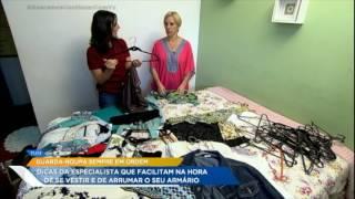 Especialista em organização dá dicas para manter o guarda-roupa arrumado