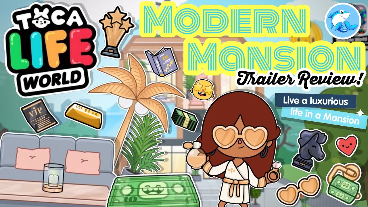 Toca Life World | Modern Mansion Trailer Review!? 😱 (COMING SOON!)