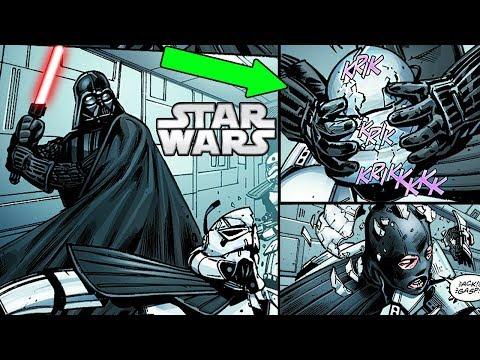 Darth Vader BRUTALLY KILLS Elite Stormtroopers on a SECRET Mission - Star Wars Comics Explained