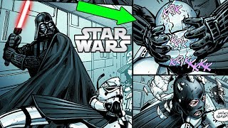 DARTH VADER Brutally KILLS Elite STORMTROOPERS on a SECRET Mission - Star Wars Comics Explained