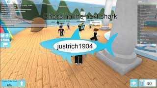 hiu seram di roblox-roblox morsure de requin.