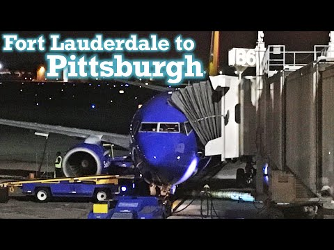 Full Flight: Southwest Airlines B737-700 Fort Lauderdale to Pittsburgh (FLL-PIT) ~ 2nd ed.