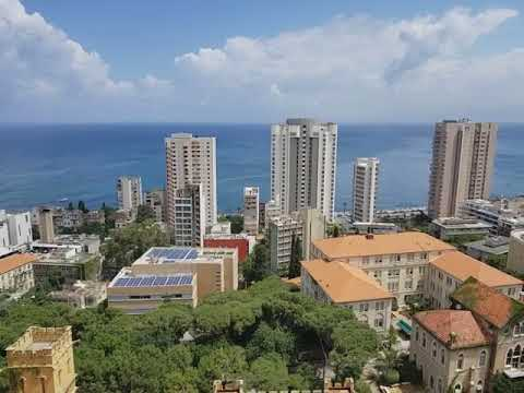 This is also Beirut. View from 1866 Suites Hotel in Hamra, next to AUB (American Univ of Beirut)