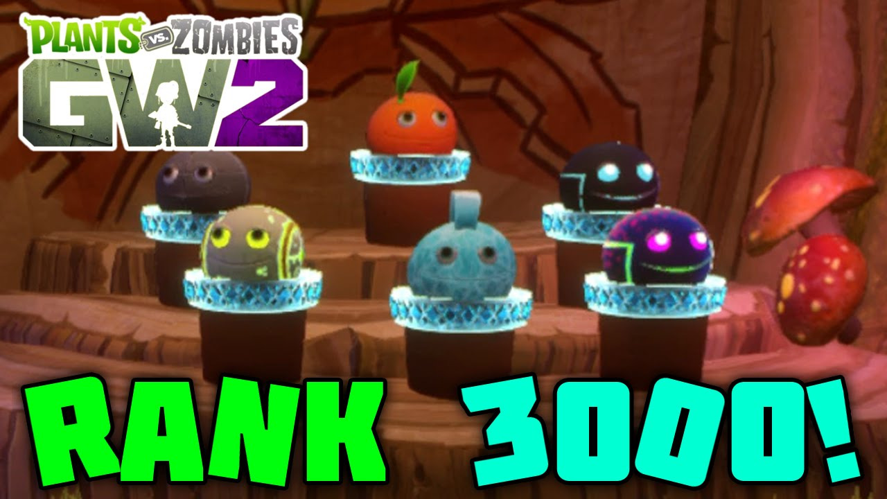 RANK 3000! Taking A Look At My Stat Rooms - Plants vs Zombies Garden  Warfare 2
