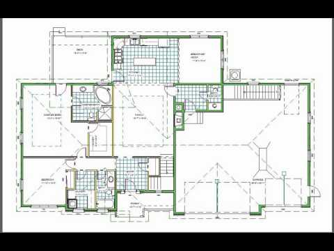 H110 Ranch House Plans 1850 sq ft main 5 bedroom 4 bath in b