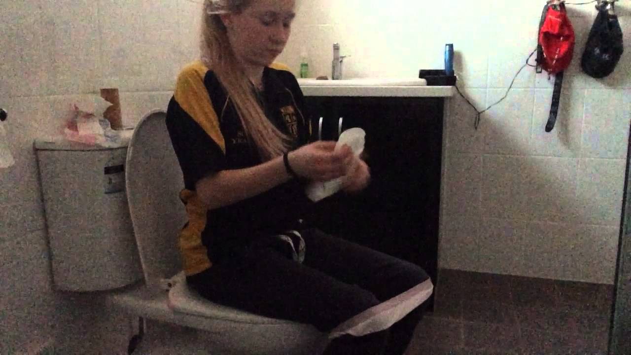 How To Change A Pad Why Your On The Toilet Youtube