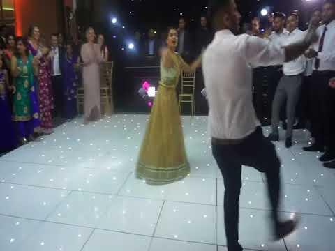 Girl Rocks The Dance Floor Best Punjabi Sikh Wedding Off Ever 2017 YouTube