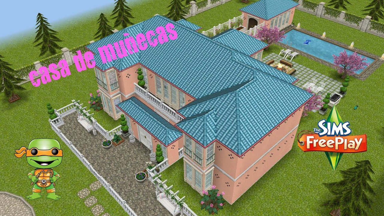 The sims casa de mu ecas doll 39 s house sims freeplay for Casa de diseno sims freeplay