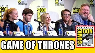 GAME OF THRONES Comic Con 2016 Panel Highlights Pt1 - Sophie Turner, Iwan Rheon, Kristian Nairn