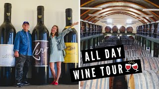 WINE TASTING in MENDOZA, ARGENTINA! ? | Full Day Winery Tour of BODEGAS LÓPEZ in Maipú ??