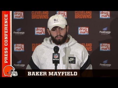 Baker Mayfield Postgame Press Conference 08/17 | Cleveland Browns