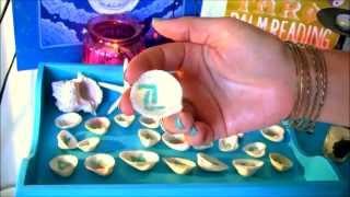 Mermaid Seashell Runes and Meanings of Elder Futhark Pagan Rune Alphabet