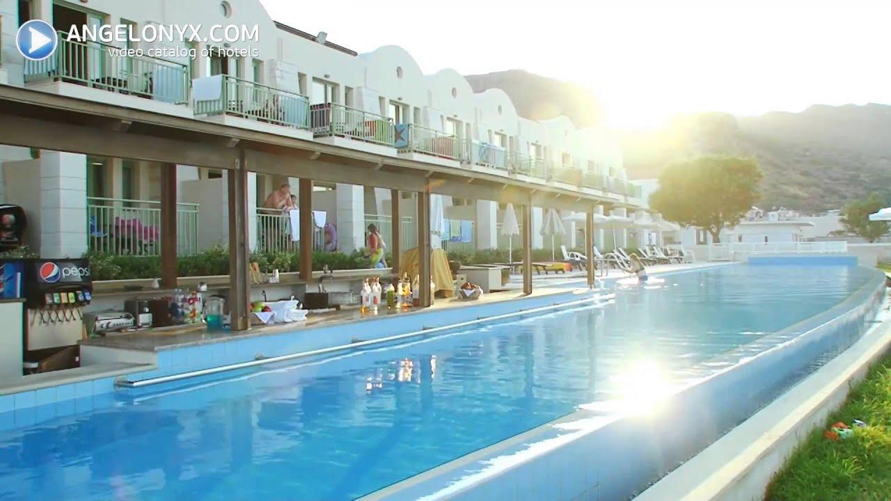 Grand bay beach resort 4 star hotel crete greece youtube for Design hotel crete
