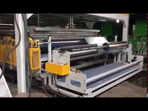 Topnotch Linia do produkcji wielowarstwowej folii bąbelkowej - YouTube HN28