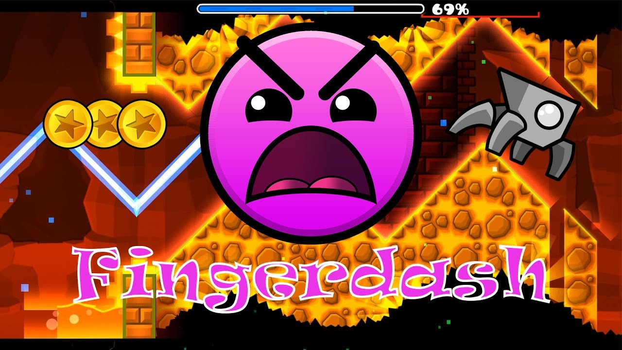 GEOMETRY DASH 2.1 ВЫШЛА! FINGERDASH [All Coins]