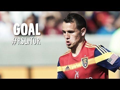 GOAL: Luis Gil scores off some nifty passing from Salt Lake   Real Salt Lake vs Toronto FC