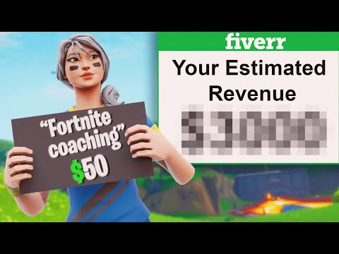I Sold Fortnite Coaching On Fiverr And Made $____