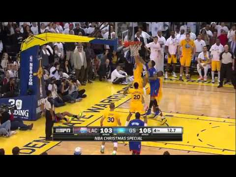 Los Angeles Clippers vs. Golden State Warriors Highlights 25/12/13