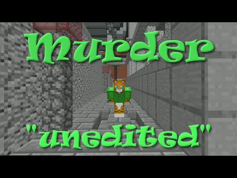 Minecraft | Murder with RadioJh Audrey | Unedited and Uncut | SallyGreenGamer