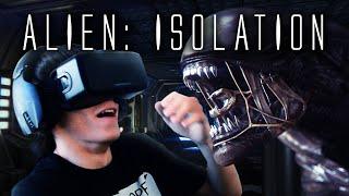Alien: Isolation - Выживание - Oculus Rift DK2 Horror