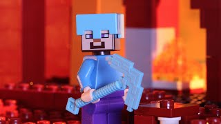 The Nether Fortress - LEGO Minecraft - Stop Motion Music Video thumbnail